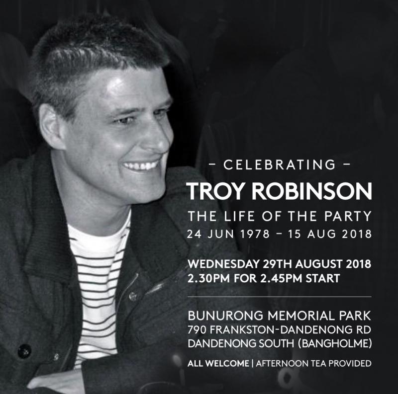 Troy Anthony Robinson